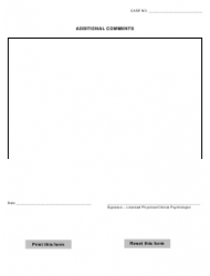 """""""Statement of Expert Evaluation Form"""" - Warren county, Ohio, Page 4"""