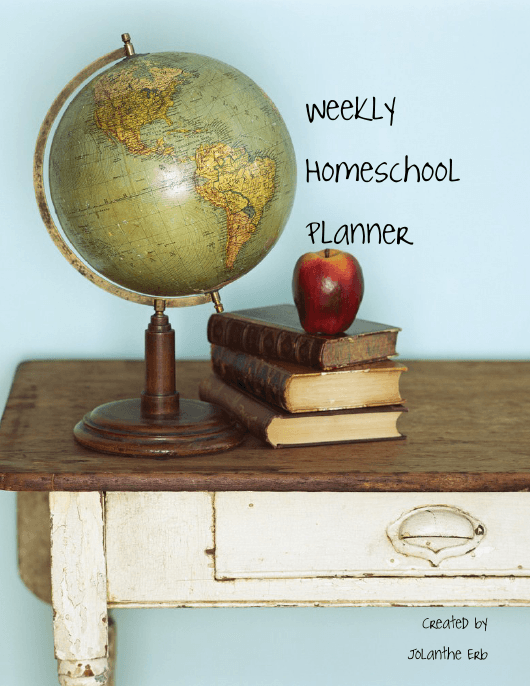 """Sample Weekly Homeschool Planner"" Download Pdf"