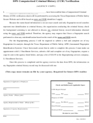 """Employment Application Packet"" - City of Jersey Village, Texas, Page 6"