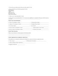 """China Visa Practice Application Form"" - China, Page 2"