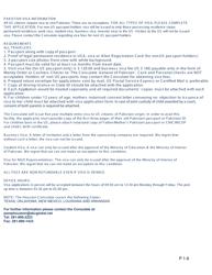 "Form P2-6 ""Pakistan Visa Application Form - Consulate General of Pakistan"" - City of Houston, Texas"