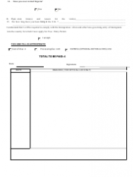 """""""Application Form for Entry Permit / Visa to the Federal Republic of Nigeria"""" - United Kingdom, Page 2"""