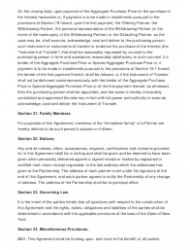"""Sample Partnership Agreement Template"", Page 10"