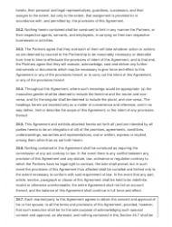 """Sample Partnership Agreement Template"", Page 11"