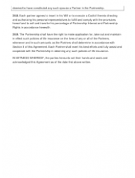"""Sample Partnership Agreement Template"", Page 12"