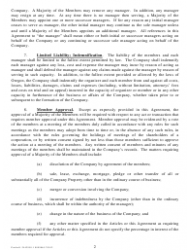 """""""Sample Operating Agreement Template"""" - City of Portland, Oregon, Page 2"""