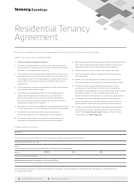 "Form 01 ""Residential Tenancy Agreement"" - New Zealand"