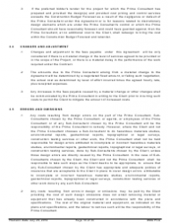 """Standard Form of Agreement Between Client and Prime Consultant"", Page 10"