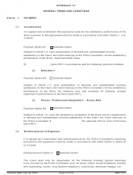 """Standard Form of Agreement Between Client and Prime Consultant"", Page 21"