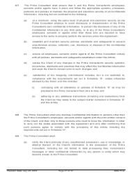 """Standard Form of Agreement Between Client and Prime Consultant"", Page 27"