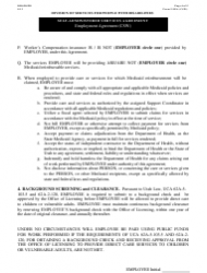 """Form 2-9ea """"Self-administered Services Agreement"""" - Utah, Page 4"""