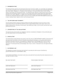 """Partnership Dissolution Agreement Template"", Page 2"