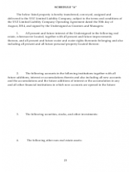 """Sample Xyz Limited Liability Company Operating Agreement"", Page 23"