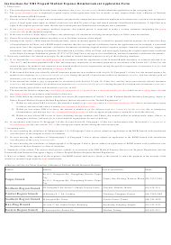"""National Health Insurance Refund Application Form"" - Taiwan"