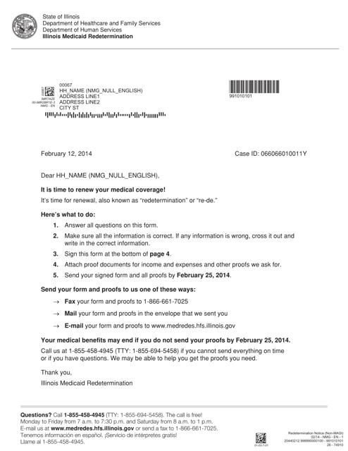 Form 26-74910 Printable Pdf