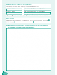 """Housing Application Form"" - City of Brighton and Hove, West Sussex, United Kingdom, Page 14"