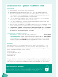 """Housing Application Form"" - City of Brighton and Hove, West Sussex, United Kingdom, Page 4"