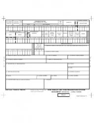 DD Form 1348-6 DoD Single Line Item Requisition System Document (Manual - Long Form)