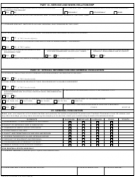 VA Form 2130 Inspection Sheet - Prosthetic Dealer, Page 2