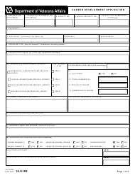 VA Form 10-0102  Fillable Pdf