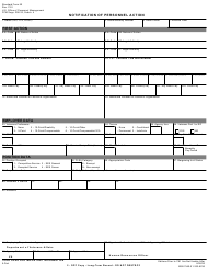 Opm Standard Form 50 Download Fillable Pdf Notification Of