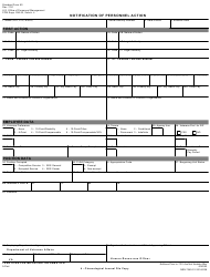 OPM STANDARD Form 50 Notification of Personnel Action, Page 5