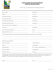 """Medical Release Form - Idaho Youth Soccer Association"""