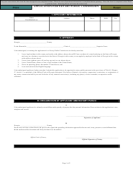 """Application for Notary Public Commission"" - Georgia (United States)"