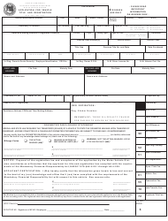 "Form MVD-10002 ""Application for Vehicle Title and Registration"" - New Mexico"