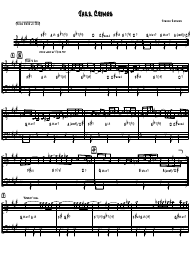"""Joshua Redman - Jazz Crimes Piano Sheet Music"""
