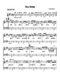 """Joshua Redman - Jazz Crimes Piano Sheet Music"""