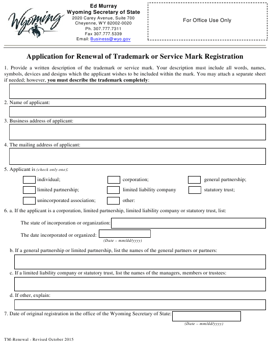 Form Download Fillable Pdf Or Fill Online Application For