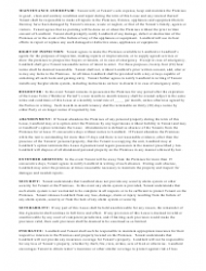 """""""Month-To-Month Lease Agreement Template"""" - Texas, Page 3"""