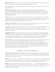 """""""Month-To-Month Lease Agreement Template"""" - Texas, Page 4"""