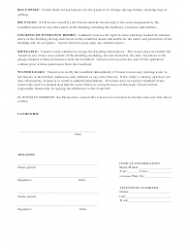"""""""Month-To-Month Lease Agreement Template"""" - Texas, Page 5"""