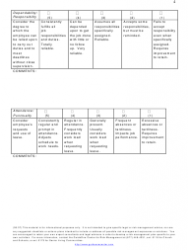 """""""Employee Performance Evaluation Form - Guideone Center for Risk Management"""", Page 4"""