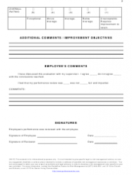 """""""Employee Performance Evaluation Form - Guideone Center for Risk Management"""", Page 5"""