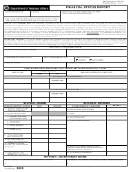 VA Form 5655 Financial Status Report