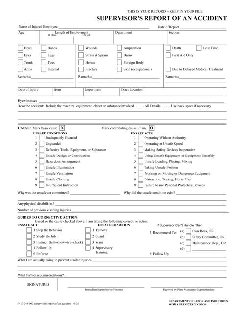 Form F417-048-000  Printable Pdf