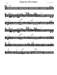 Horace Silver - Song for My Father Trumpet Sheet Music