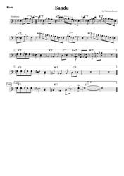 Clifford Brown - Sandu Trombone Sheet Music