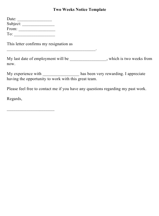 Resignation Letter Format Pdf from data.templateroller.com