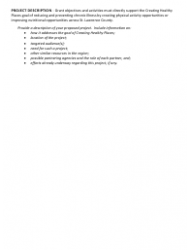 Project Proposal Template, Page 3