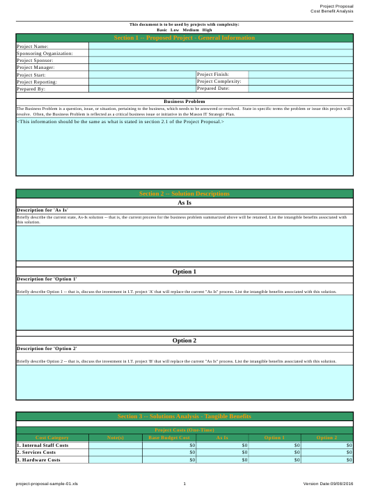 """""""Project Proposal Template"""" Download Pdf"""