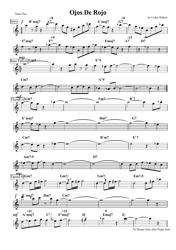 Cedar Walton - Ojos De Rojo Tenor Sax Sheet Music