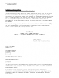 Full block style business letter templates download printable pdf full block style business letter templates page 2 wajeb Image collections