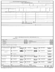 DA Form 67-9 Officer Evaluation Report
