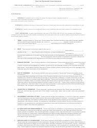 Residential Lease Agreement Template - New York
