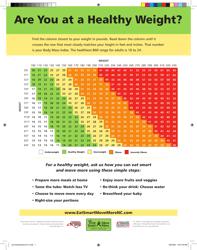 """Adult BMI Chart"""