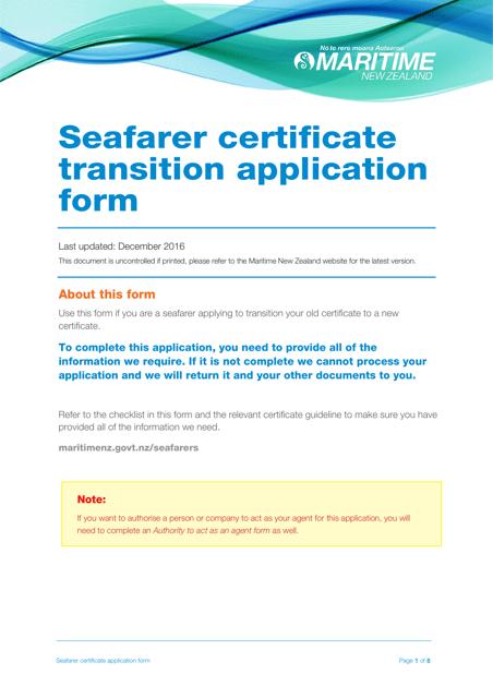seafarer-certificate-transition-application-form_big Online China Visa Application Form V on form for study, service center singapore, form.pdf, completion instructins, service center, form fillable,